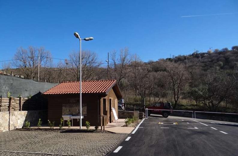 Area di sosta a Cerchiara di Calabria