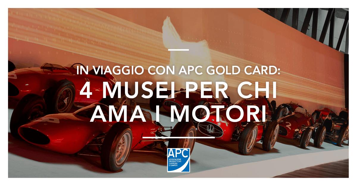 Musei sui motori in Italia